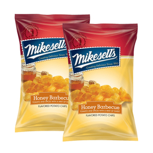 Mikesell's Honey Barbecue Potato Chips 2 Pack (284g per Pack)