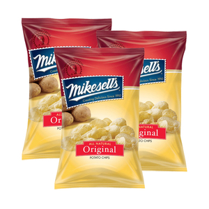 Mikesell's Original Potato Chips 3 Pack (284g per Pack)