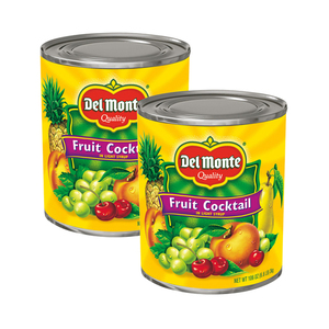 Del Monte Fruit Cocktail in Light Syrup 2 Pack (3kg per Can)