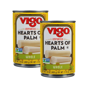 Vigo Hearts Of Palm 2 Pack (396g per Can)