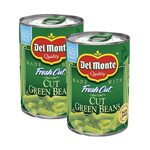 Del Monte Blue Lake Cut Green Beans 2 Pack (411g per Can)
