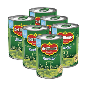 Del Monte Blue Lake Cut Green Beans 6 Pack (411g per Can)