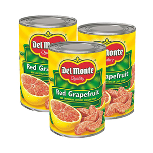 Del Monte Red Grapefruit 3 Pack (425g per Can)