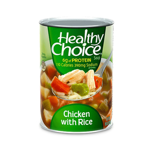 Healthy Choice Chicken with Rice Soup 425g