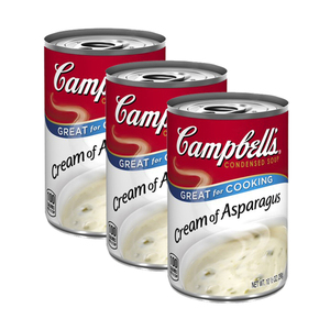 Campbell's Condensed Soup Cream of Asparagus 3 Pack (298g per Can)