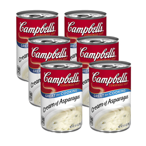Campbell's Condensed Soup Cream of Asparagus 6 Pack (298g per Can)