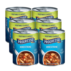 Progresso Minestrone Soup 6 Pack (538g per Pack)