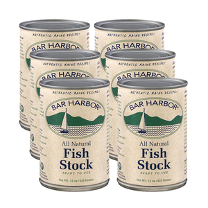 Bar Harbor Fish Stock 6 Pack (398ml per Can)