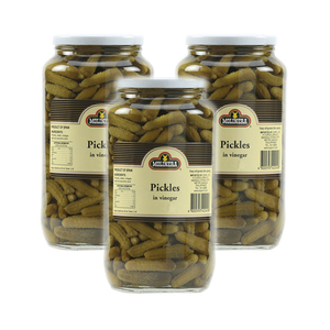 Molinera Pickles in Vinegar 3 Pack (340g per Bottle)
