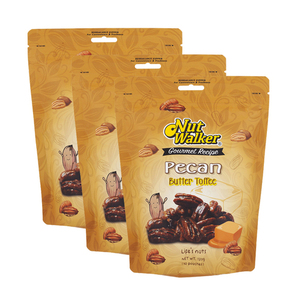 Nut Walker Butter Toffee Pecan 3 Pack (120g per Pack)