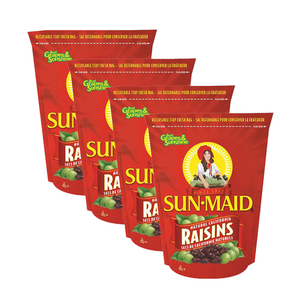 Sun-Maid Natural California Raisins 4 Pack (1020g per Pack)