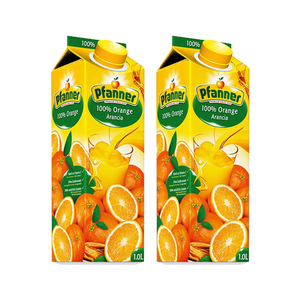 Pfanner 100% Orange Juice 2 Pack (1L per Pack)
