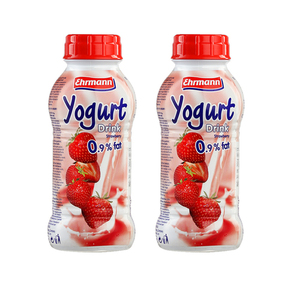 Ehrmann Yogurt Drink Strawberry 2 Pack (330g per pack)