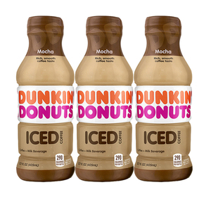 Dunkin Donuts Iced Coffee Mocha 3 Pack (405ml per pack)