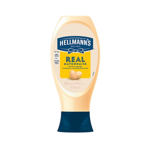 Hellmann's Real Squeezy Mayonnaise 430ml