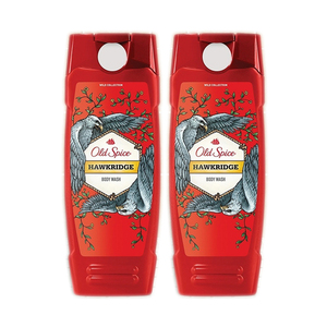 Old Spice Wild Collection Hawkridge Body Wash 2 Pack (473ml per Bottle)