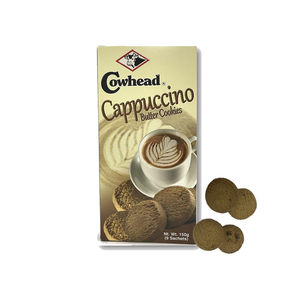 Cowhead Cappuccino Butter Cookies 150g