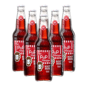 The PoP Shoppe Root Beer 6 Pack (355ml per Bottle)