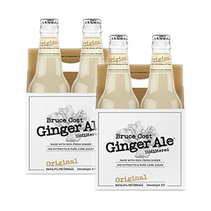 Bruce Cost Original Unfiltered Ginger Ale 2 Pack (4x355ml per Pack)