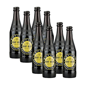 Boylan Root Beer Sugar Soda 2 Pack (4x355ml per Pack)