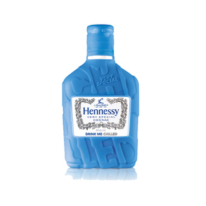 Hennessy Chilled Flask Blue 200ml