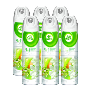 Airwick 4-in-1 White Lilac & Orange Blossom Air Fresheners 6 Pack (236.5ml per pack)