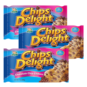 Chips Delight Chocolate Chip Cookie 3 Pack (200g per Pack)