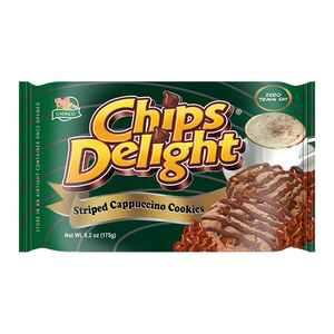 Chips Delight Stripped Cappuccino Cookie 175g