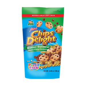 Chips Delight Mini Butter Oatmeal Chocolate Chip Cookies 130g