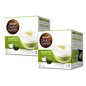 Nescafe Dolce Gusto Green Tea Latte 2 Pack (16 Count per pack)