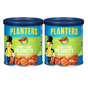 Planters Chili Lime Peanuts 2 Pack (170g per pack)