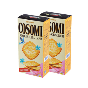 Orion Cosomi Cookie Cracker 2 Pack (160g per pack)