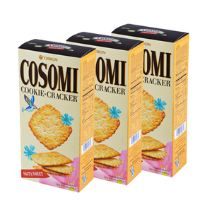 Orion Cosomi Cookie Cracker 3 Pack (160g per pack)