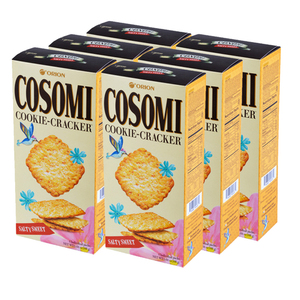Orion Cosomi Cookie Cracker 6 Pack (160g per pack)