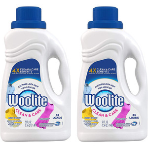 Woolite Gentle Cycle Liquid Laundry Detergent 2 Pack (1.48L per pack)