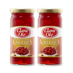 Clara Ole Maraschino Cherries 2 Pack (280g per Bottle)