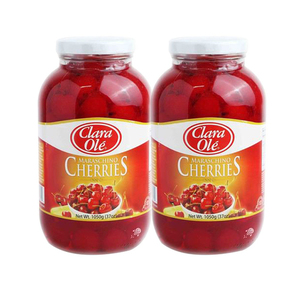 Clara Ole Maraschino Cherries 2 Pack (1050g per Bottle)