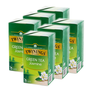 Twinings Jasmine Green Tea 6 Pack (25's per Box)