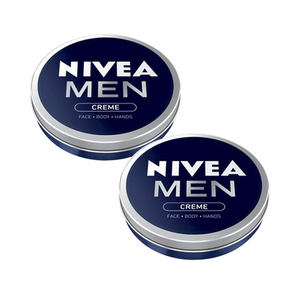 Nivea Men Face + Body Cream 2 Pack (150ml per pack)