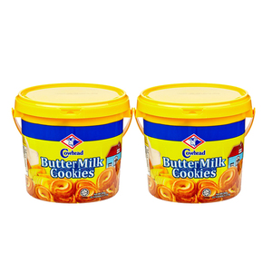 Cowhead Butter Milk Cookies 2 Pack (350g per pack)