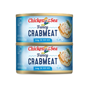 Chicken of the Sea Fancy Crab Meat 2 Pack (120g per Can)