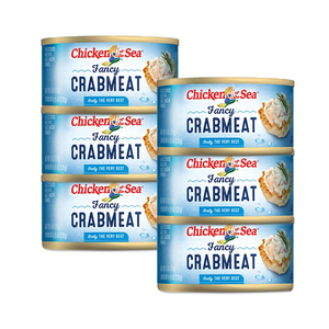 Chicken of the Sea Fancy Crab Meat 6 Pack (120g per Can)