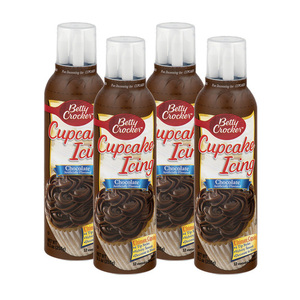 Betty Crocker Chocolate Decorating Cupcake Icing 6 Pack (258g per Bottle)