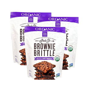 Sheila G's Organic Brownie Brittle Pretzel & Dark Chocolate 3 Pack (142g per pack)