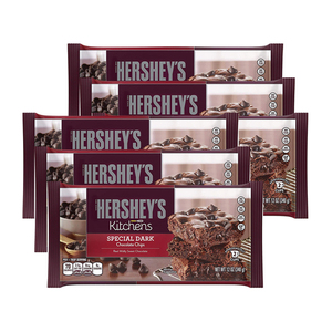 Hershey's Kitchens Special Chocolate Chips 6 Pack (340g per pack)