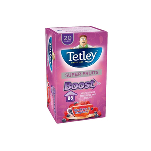 Tetley Super Fruits Boost Bluebery & Raspberry 20's