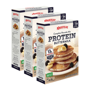 Krusteaz Protein Pancakes Mix 3 Pack (1.7kg per pack)