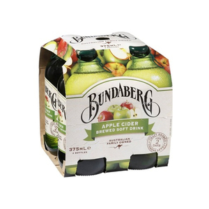 Bundaberg Apple Cider 4 Pack (375ml per pack)