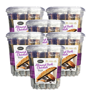 Nonni's Almond Dark Chocolate Biscotti 6 Pack (25's per pack)