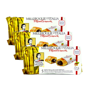 Matilde Vicenzi Mini Snack with Hazelnut 3 Pack (125g per pack)